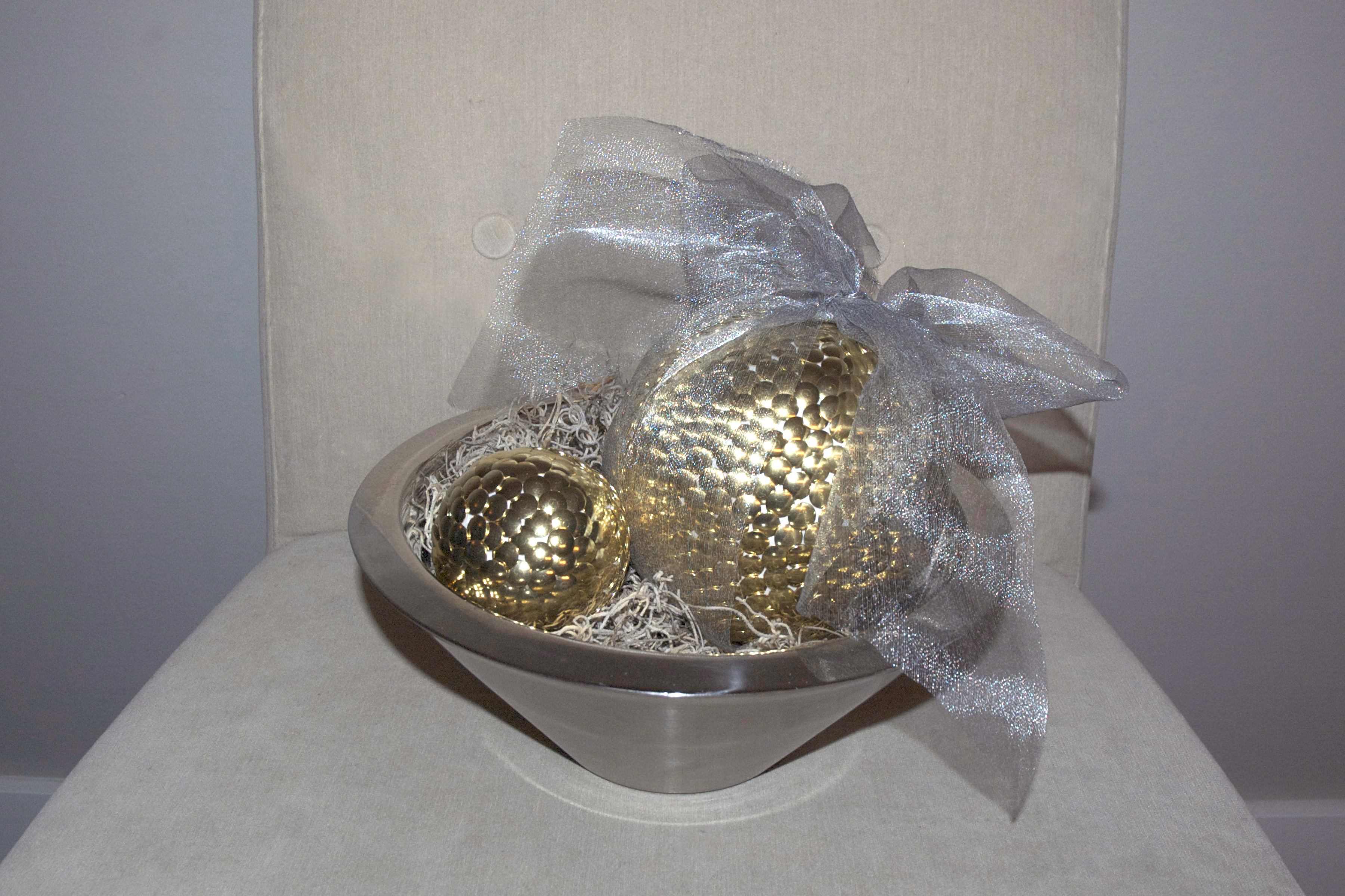Gold ball DIY