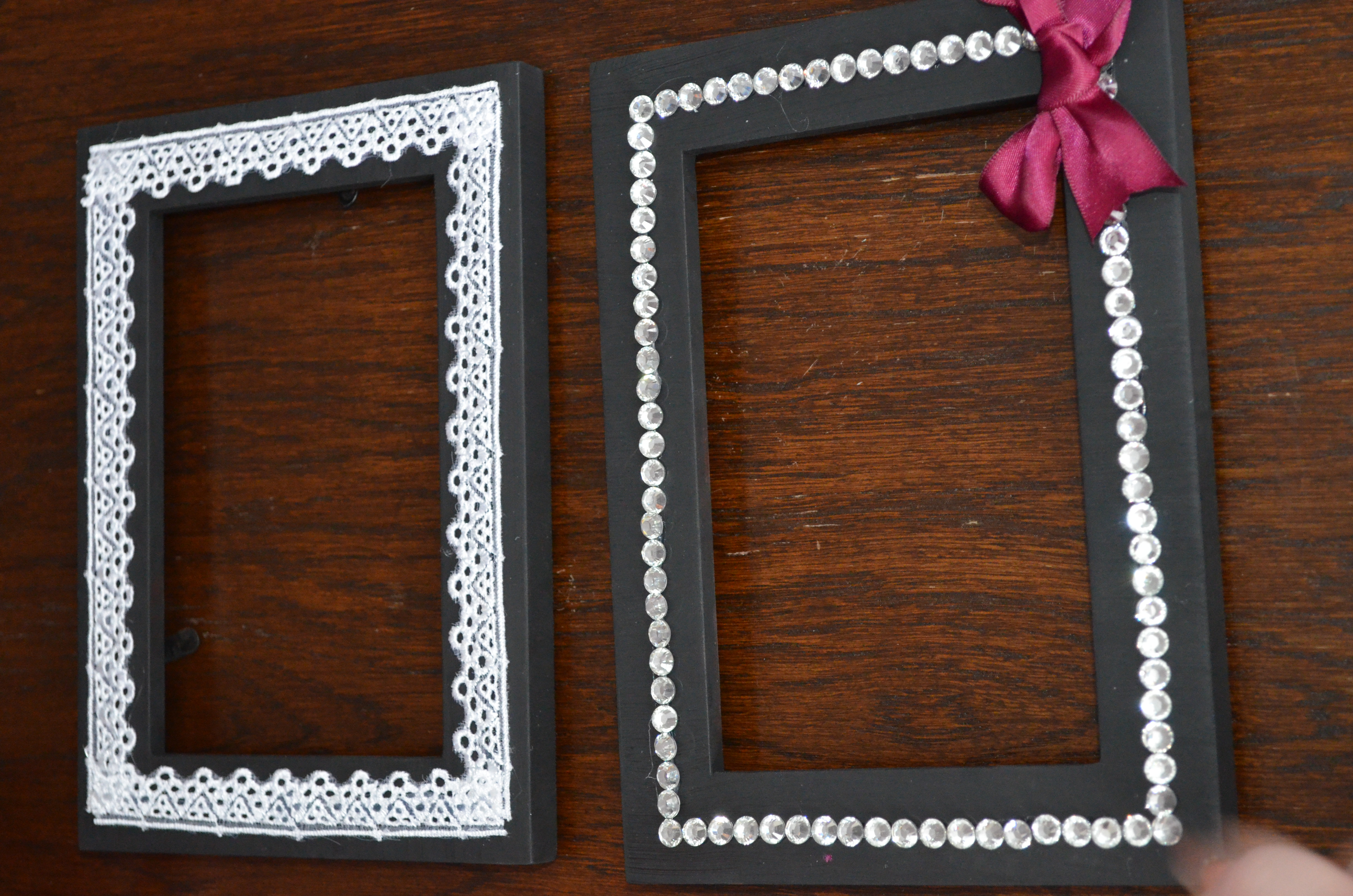 How To Decorate Picture Frames With Ribbon - Easy Craft Ideas