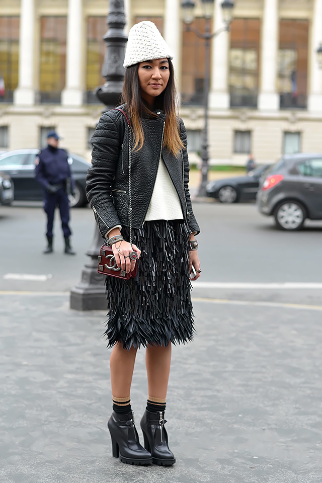 Paris Couture Fashion Week 2014 Street Style Girls Of T O
