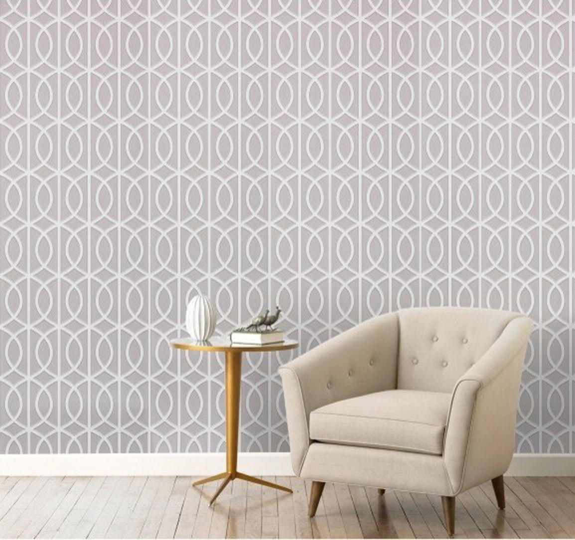 geometric and graphic wallpaper home trends girls of t o