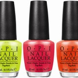 OPI Neon Lacquers & White Base Coat Colour Booster