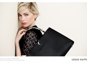 Michelle Williams for Louis Vuitton Handbag Campaign, Spring 2014