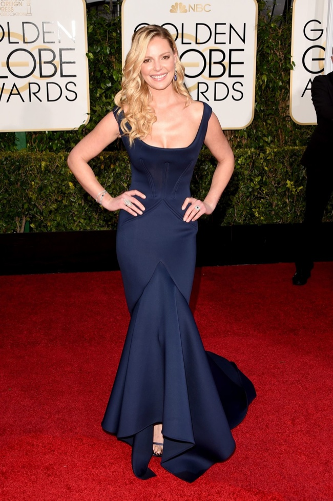 The Best Red Carpet Looks at the 2015 Golden Globe Awards - Girls ...