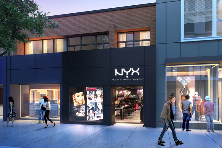 Sneak Peek of the First NYX Cosmetics Store in Canada