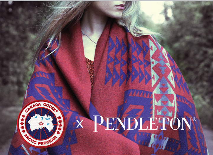 Canada Goose x Pendleton Accessories Collection