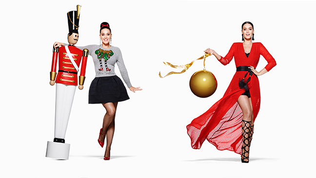 H&M Holiday Campaign feat. Katy Perry