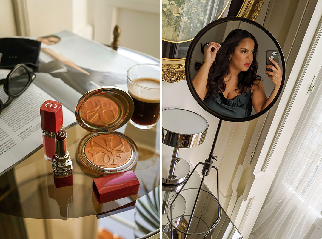 Tips For A Glowy Dior Makeup Look